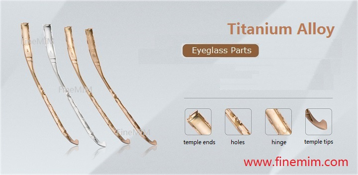 Eyeglass Titanium Parts